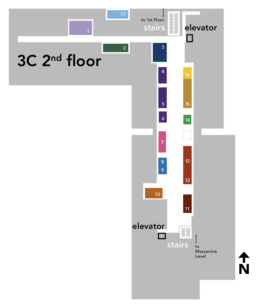 Map of 3C One Stop Shop
