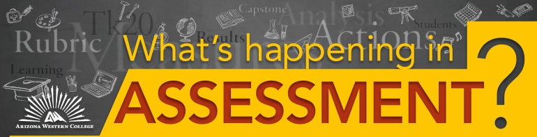 What's happening in Assessment?