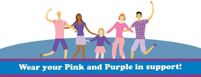 Wear Pink and Purple